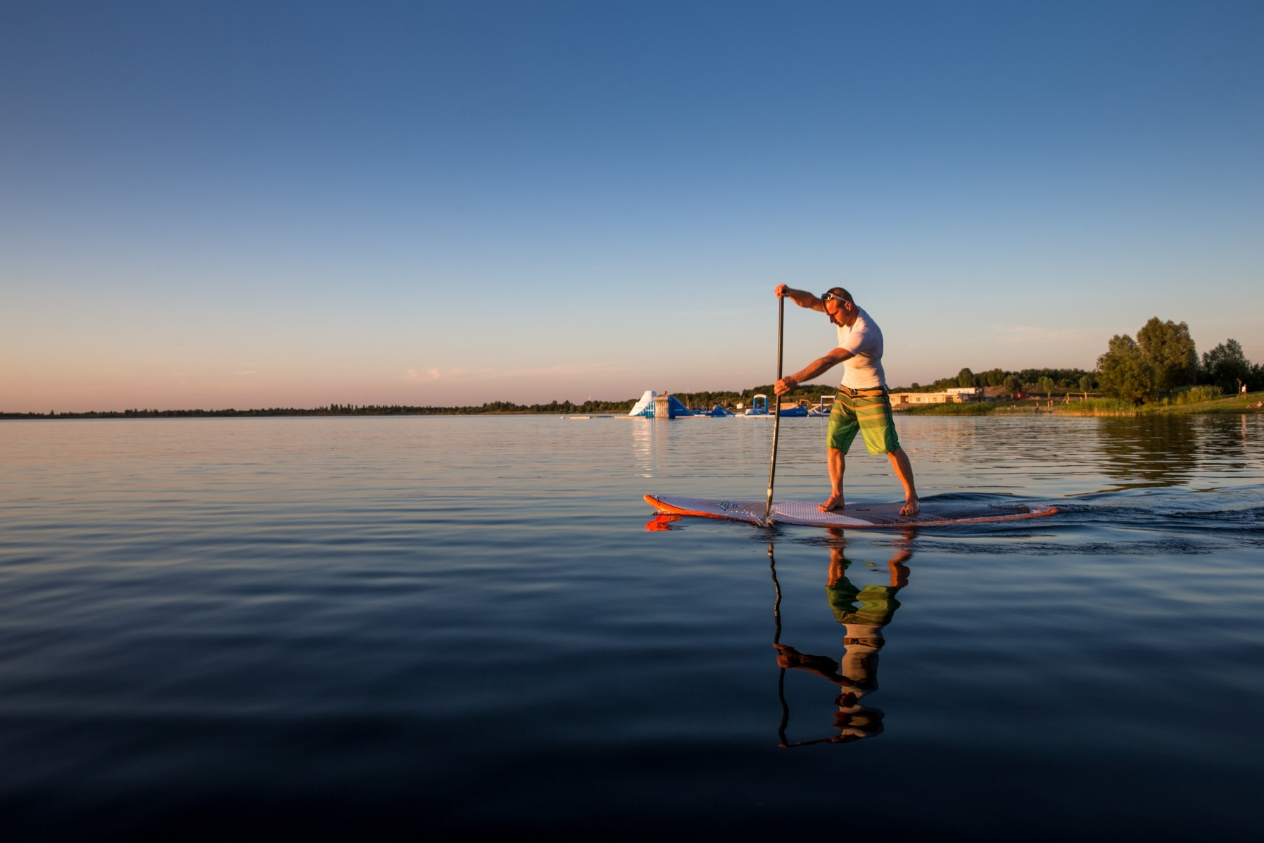 SUP mit ALL-on-SEA (©S. Flad)