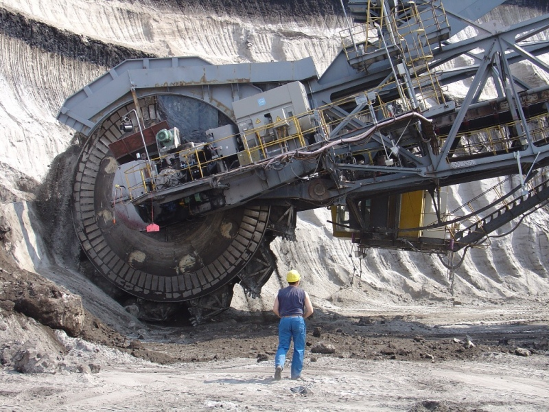 Bucket-wheel excavator © A.Berkner